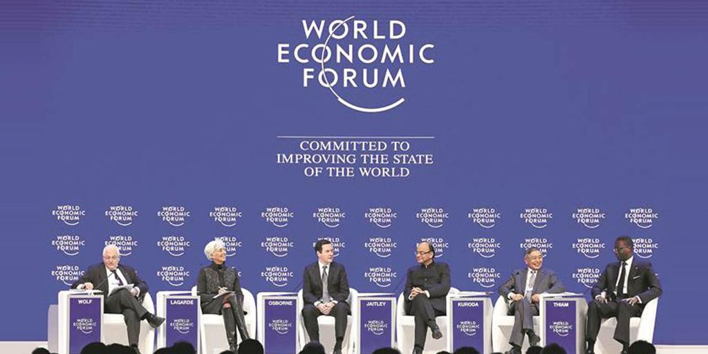 Überraschung in Davos