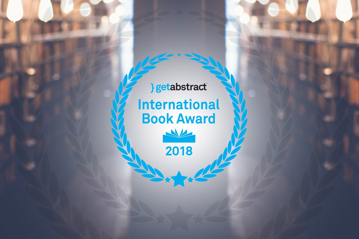 getAbstract International Book Award 2018