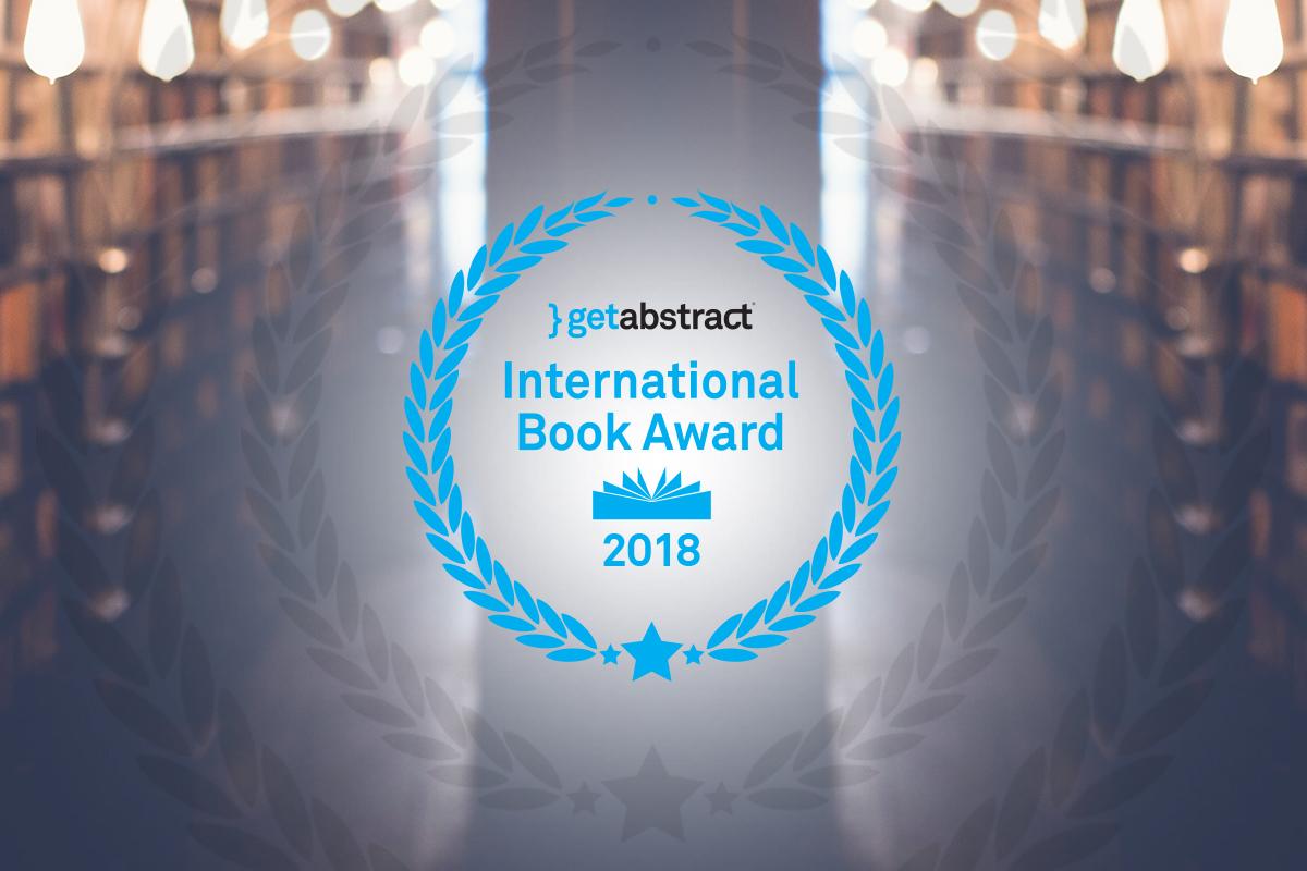 getAbstract International Book Award 2018 auf der Frankfurter Buchmesse