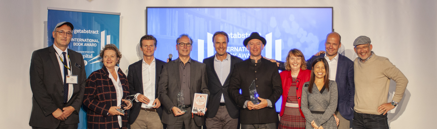 The Winners of the getAbstract International Book Award 2019