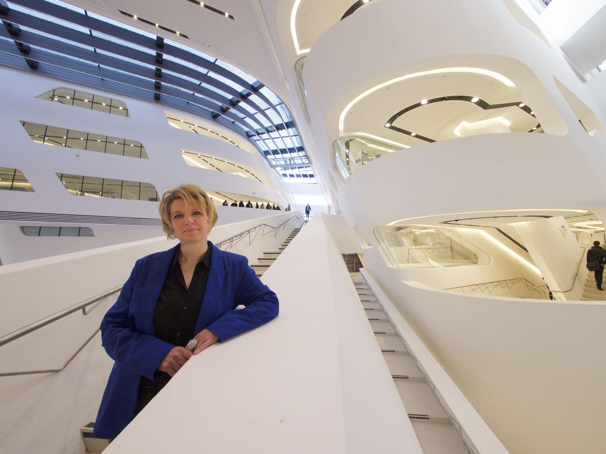 Photo: Yvonne Hofstetter, photographiert von Heimo Aga.