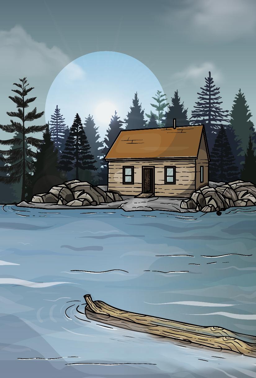 The 1845 Tiny Home Craze