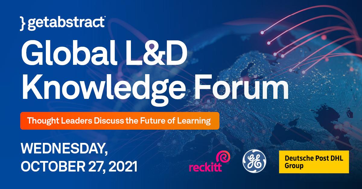 Global L&D Knowledge Forum